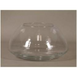 Bowl glass 'Lunas' d20xh23cm