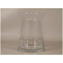 Vase 'Magra' d19xh25cm clear