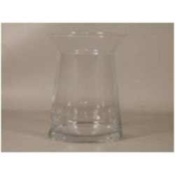 Vase 'Magra' d16xh22cm clear