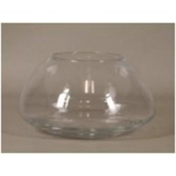 Bowl glass 'Lunas' d13xh24.5cm
