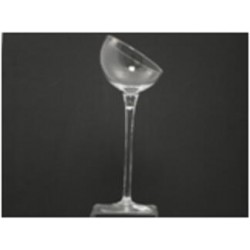 Coupe 'Alby' d16xh33.5cm clear